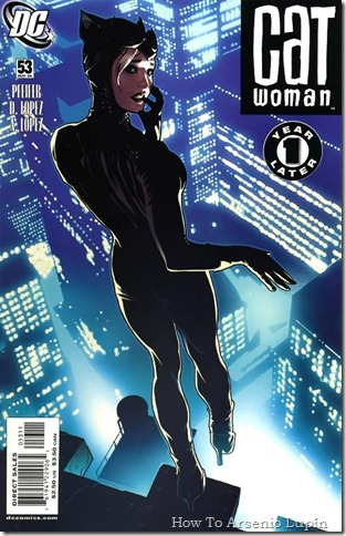One Year Later - Catwoman #53