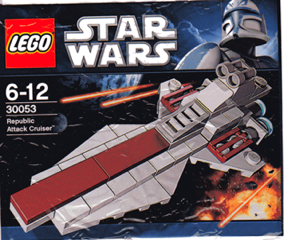 LEGO: 30053 Republic Attack Cruiser