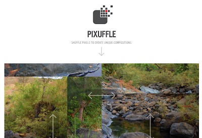 Shuffle Pixels Of Your Photo To Create Unique Composition