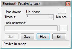 Use Bluetooth Device to Lock Your Computer