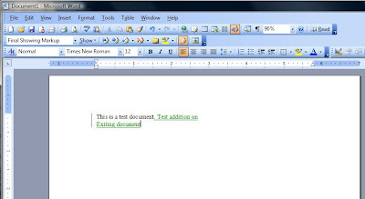 track changes made to a word document