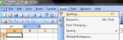 Worksheet Spell Checking in Excel