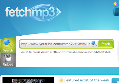 Convert YouTube Video To An MP3 File With FetchMP3