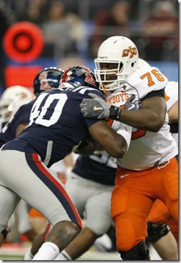 Detroit Lions draft Russell Okung