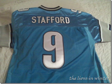Authentic Matthew Stafford home Detroit Lions jersey