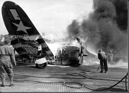 Crash P-47