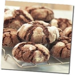 ChocolateCrinkleCookies