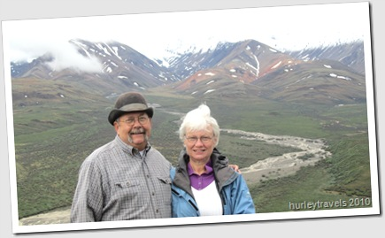 Nancy and Jerry at Polychrome Pass, Denali Natl Park