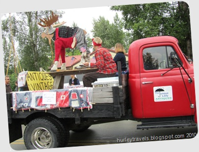 Wood-N-Ski Moose, sponsored by The Junque Lady, Talkeetna, AK