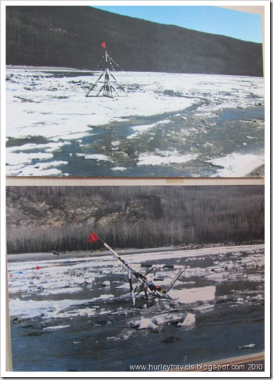 The ice breakup  in the Tanana River at Nenana is a celebration for all.  Let the river flow and the festivals begin.