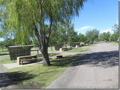 One of our Corp of Engineer park selections. This one is the Left Tailrace Campground, Lake Sharpe - Fort Thompson, South Dakota