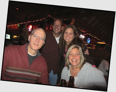 Good time was had by all at the Texas Roadhouse for Jenny's birthday.