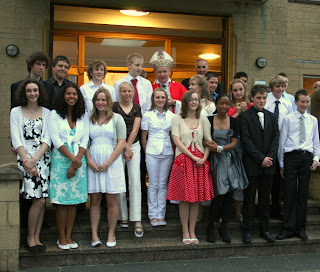 The Mayfield Deanery Confirmation 2008 with Bishop Kieran