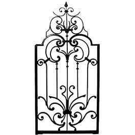 Mẫu cổng sắt - CO-015