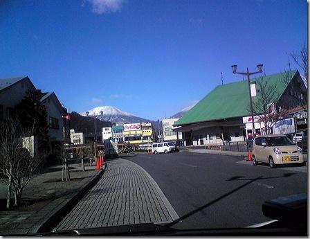 冬の日光連山|東武日光駅付近撮影