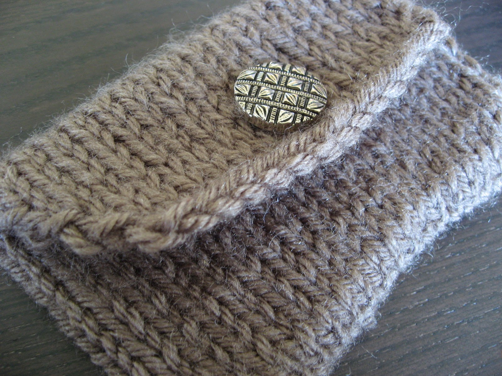 Knitting Increase Purlwise : Think crafty thoughts pattern a knitted pocket