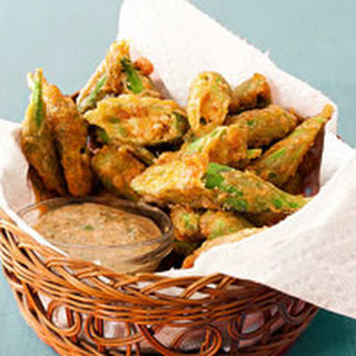 Battered Okra Bites