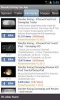 Screenshot of Slender Rising Fan App