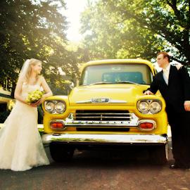by Trisha Lookabill - Wedding Bride & Groom