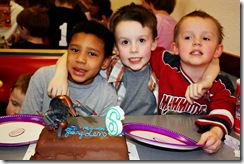 Jayden Bday Cake Friends