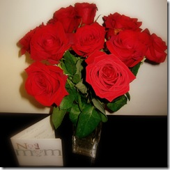 Red Roses for Mother's Daycrop