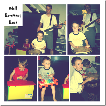 Udall Basement Band Collage copy