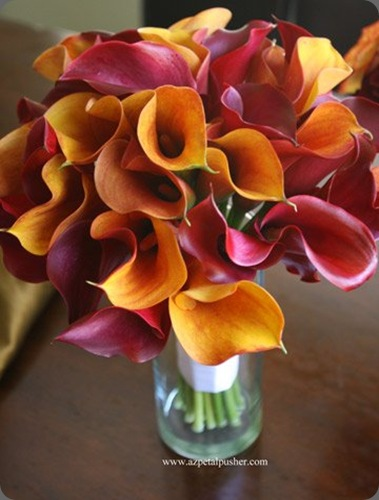 Calla-Bouquet petal pusher