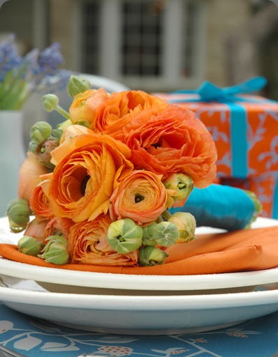 this may be my alltime favorite orange bouquet orange ranunculus and