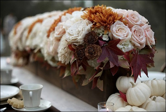 Fall Wedding Details heavenly blooms
