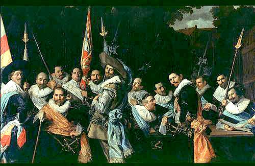 Archers of Saint Hadrian, Frans Hals