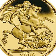 złota moneta bulionowa