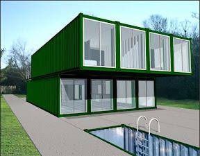 El arquitecto que ve en los containers viviendas de quita - Casas container precio ...