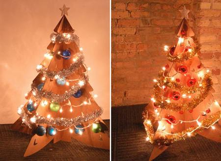 Всичко от всичко за празниците. - Page 5 Cardboard-christmas-tree5