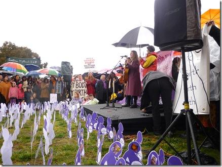 42 homebirth rally