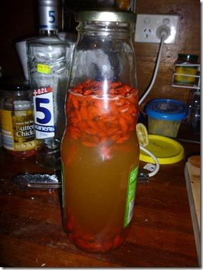 44 goji liqueur