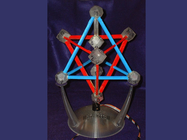 Digit Yantra -- Stereolithograph and Opto-Electro-Mechanics