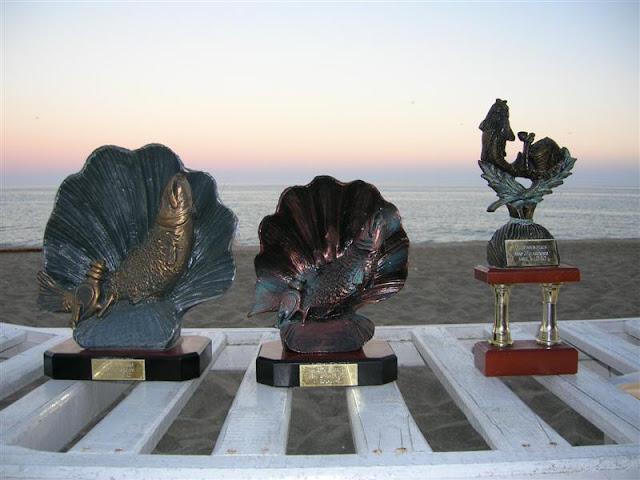 Premios entregados en el torneo.