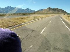 NEARING THE TOP OF SAN AUGUSTIN PASS