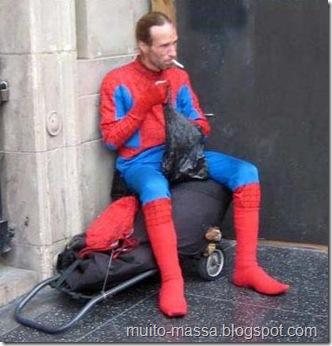 Homem Aranha desempregado