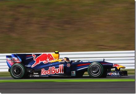 Sebastian Vettel Pole Japon