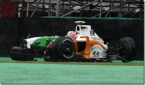 Liuzzi Crash