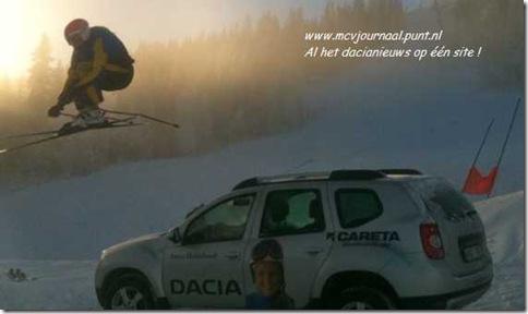 Dacia Duster Anna Holmlund