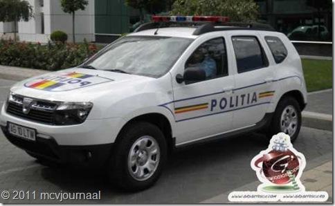 Dacia Duster Politie Boekarest 03