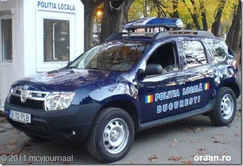 Dacia Duster Politie Boekarest 05