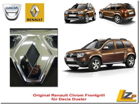 Renault Duster Grill 01