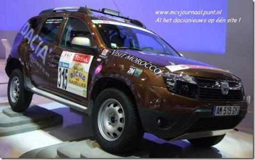 Dacia Duster Rally Marokko 2011 04