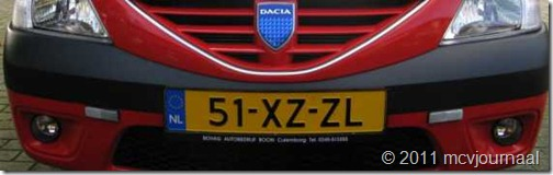 Reflectoren Dacia MCV 01