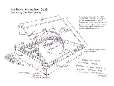 animation desk plans