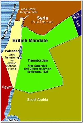 British Mandate for Palestine 1921