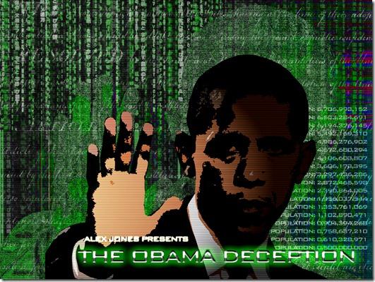 Obama Deception Wall Paper